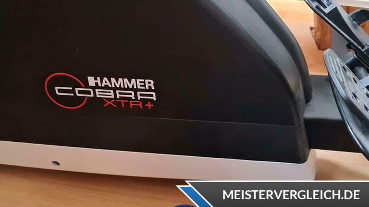 Hammer Rudergerät Cobra XTR Plus II Test
