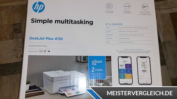 HP Deskjet Plus 4110 Verpackung