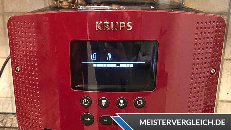 Krups Kaffeevollautomat EA815570 Display