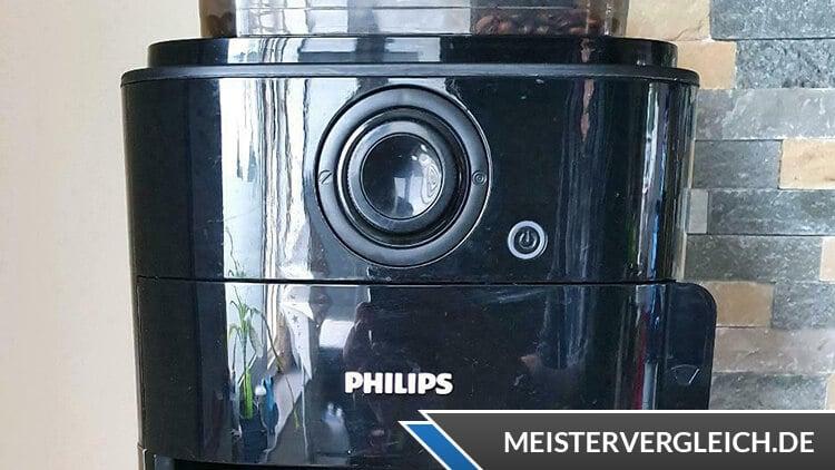 PHILIPS Kaffeemaschine mit Mahlwerk Grind & Brew HD7767-00 Test