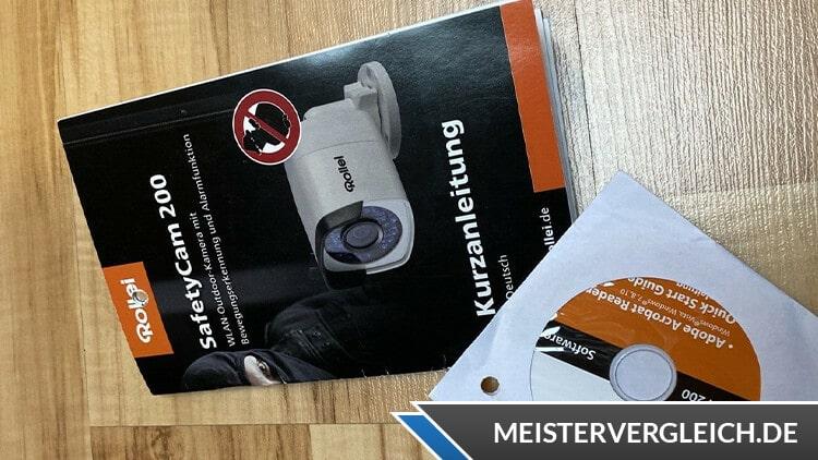 Rollei SafetyCam 200 Bedienungsanleitung