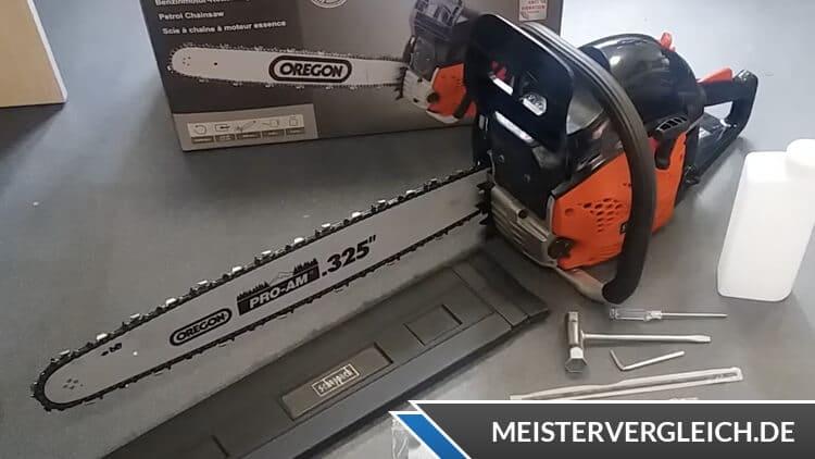 Scheppach Kettensäge CSP5300 Test
