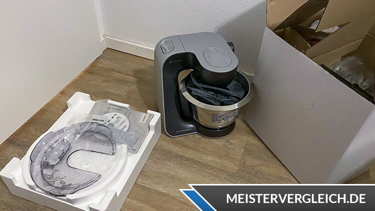 BOSCH MUM59M55 Küchenmaschine Test