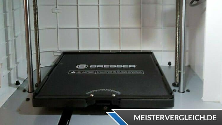 Bresser WLAN 3D-Drucker REX II Heizplattentemperatur