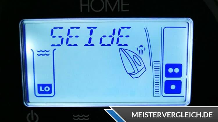 EASY HOME Dampfbügelstation LC-Display