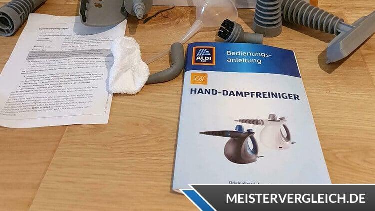 Easy Home Hand-Dampfreiniger Bedienungsanleitung
