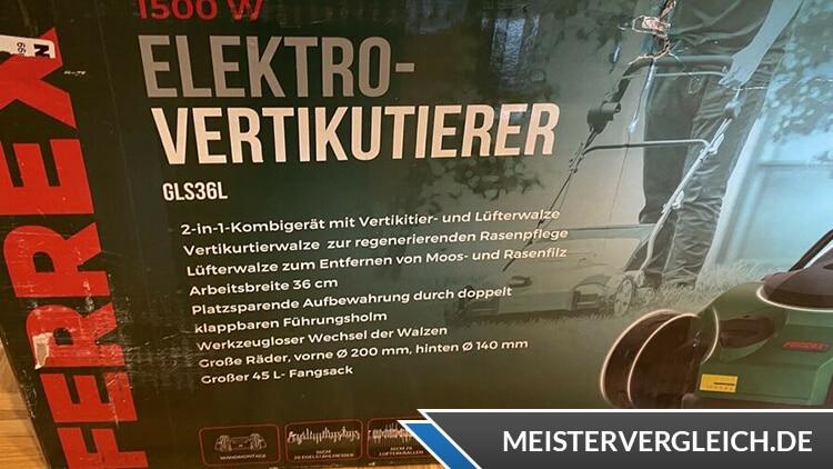 FERREX Elektro-Vertikutierer Lieferumfang