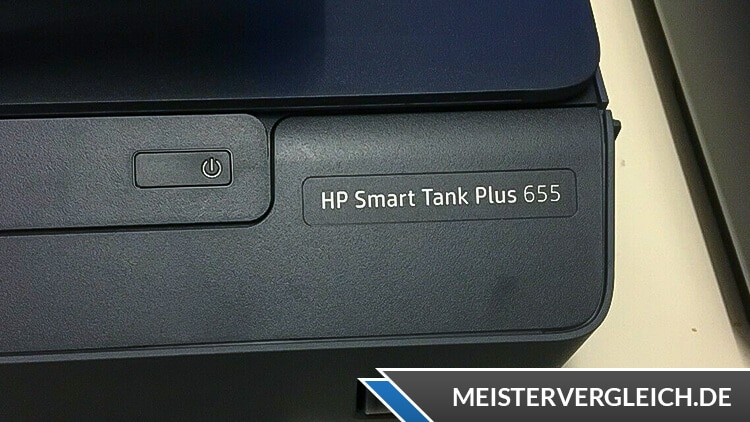 HP All-in-One-Drucker Smart Tank Plus 655 Knöpfe