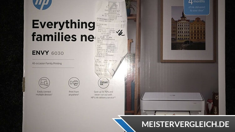 HP Envy 6030 Verpackung