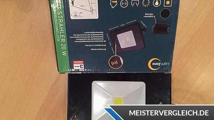 LIGHTZONE LED-Arbeitsstrahler Verpackung