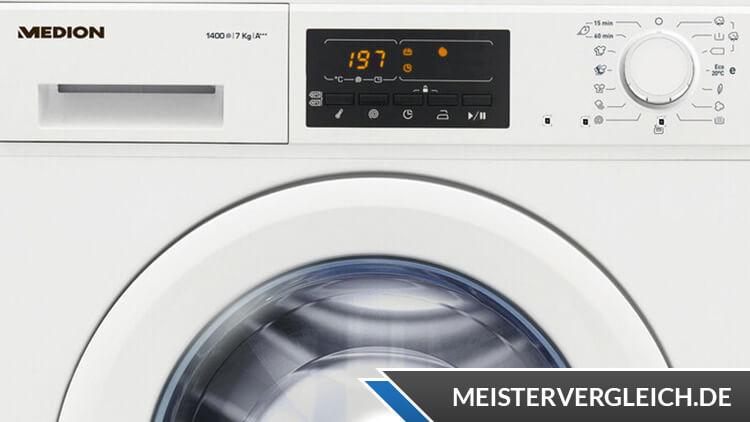 MEDION Waschmaschine MD 37538 Test