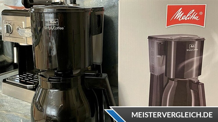 Melitta Simply Coffee Therm Test