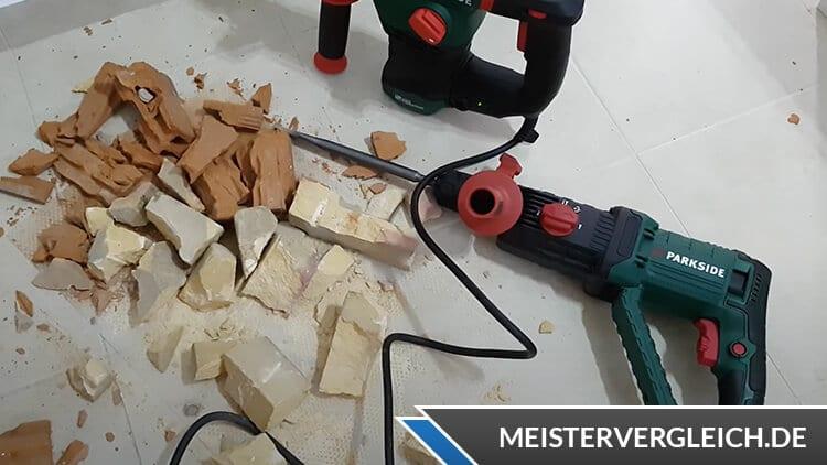 PARKSIDE Bohr- und Meißelhammer Test