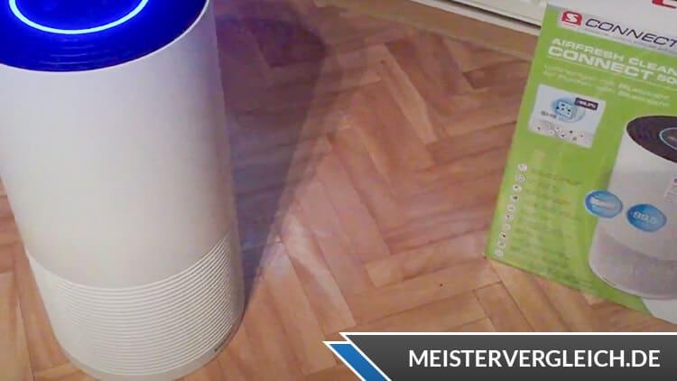 SOEHNLE Luftreiniger AirFresh Clean Connect 500 Praxistest