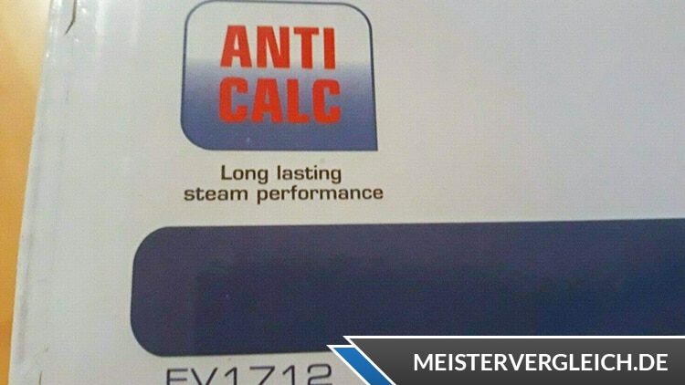 TEFAL Dampfbügeleisen FV 1712 Anti Calc