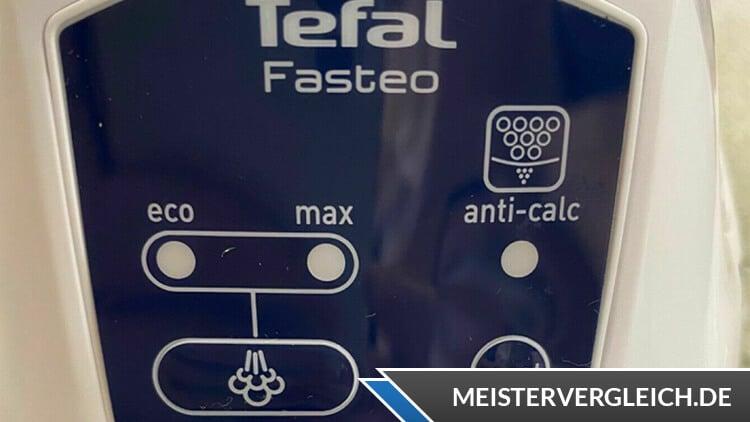 TEFAL Dampfbügelstation Fasteo SV6035 Bedienelemente