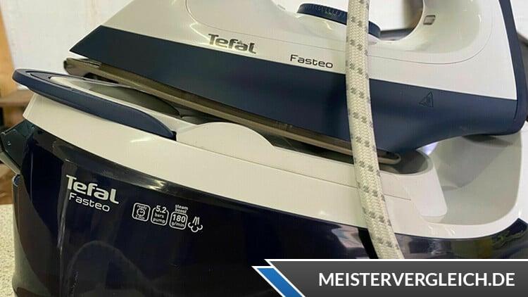 TEFAL Dampfbügelstation Fasteo SV6035 Qualität