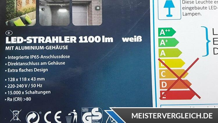 WORKZONE Akku LED-Strahler Datenblatt
