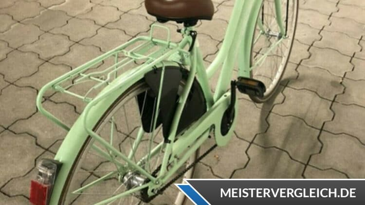 Bergsteiger Cityrad Amsterdam City-Rahmen