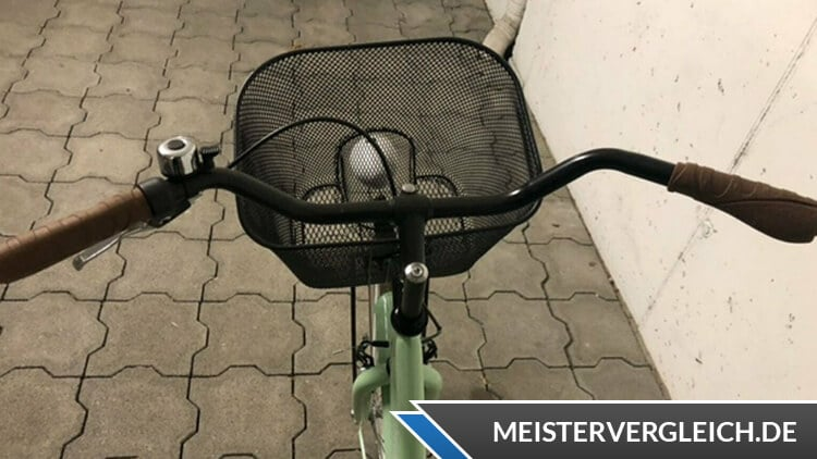 Bergsteiger Cityrad Amsterdam Lenkrad