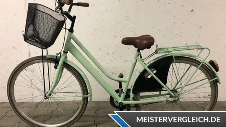 Bergsteiger Cityrad Amsterdam Test