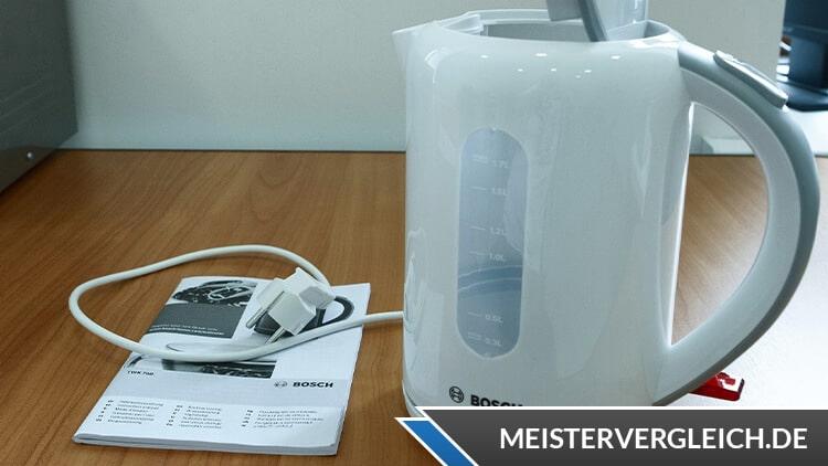 Bosch TWK 7601 Wasserkocher Lieferumfang