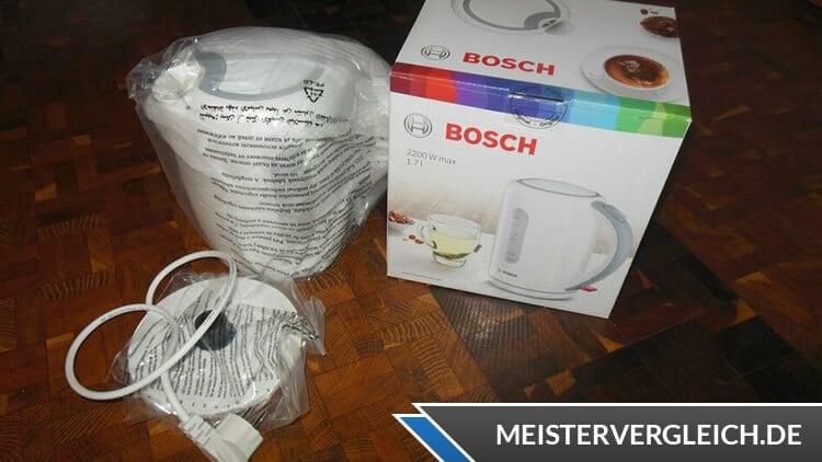 Bosch TWK 7601 Wasserkocher Unboxing