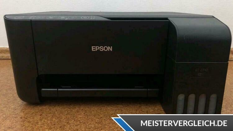 EPSON 3-in-1-Drucker EcoTank ET-2710 Test
