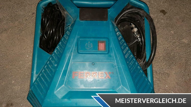 FERREX Mobiler Kompressor Test