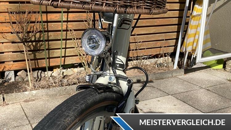 FISCHER Retro E-Bike ER 1804 Licht