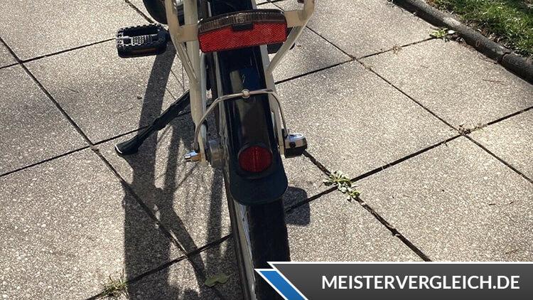 FISCHER Retro E-Bike ER 1804 Rücklicht