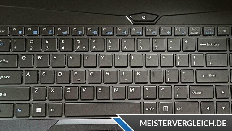 MEDION ERAZER P15609 Tastatur
