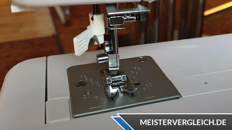 MEDION MD 18005 Freiarm-Nähmaschine Nähgeschwindigkeit