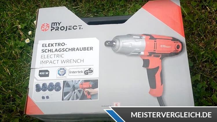 MY PROJECT Elektro-Schlagschrauber Verpackung