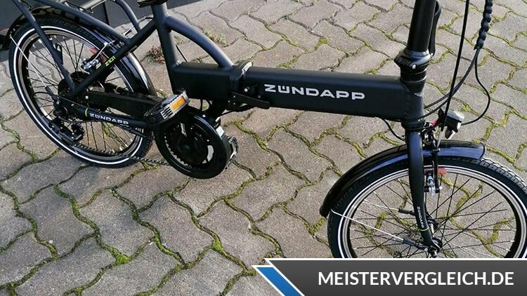 Zündapp Z101 E-Faltrad Räder