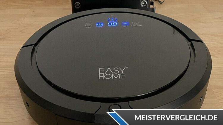 EASY HOME Saugroboter Test