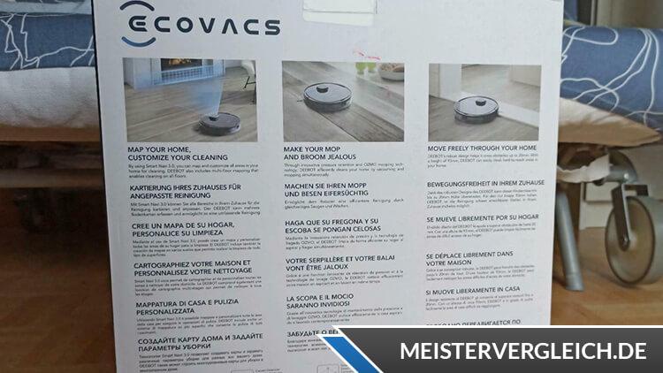 Ecovacs DEEBOT OZMO 920 Saug- und Wischroboter