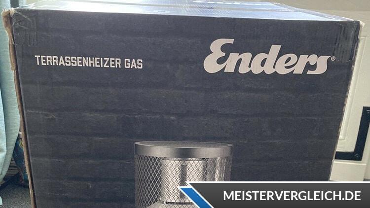 ENDERS Gas-Terrassenheizer Polo 2.0 Verpackung
