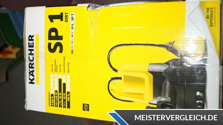 Kärcher SP 1 Dirt Schmutzwassertauchpumpe Verpackung