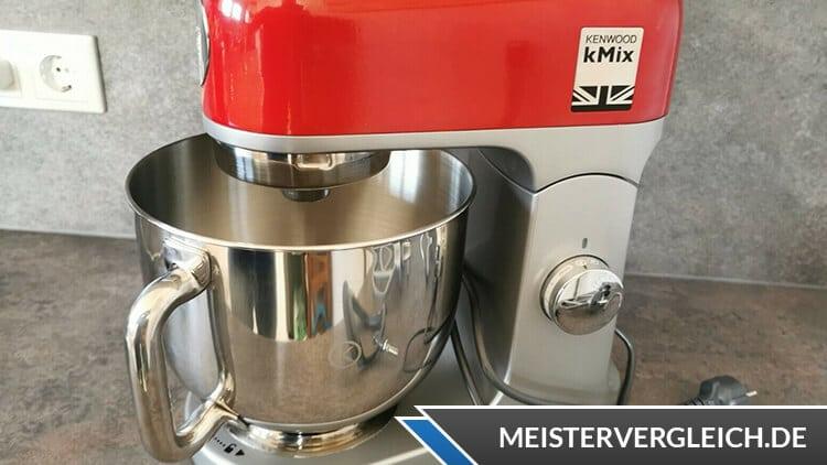 Kenwood K-Mix Küchenmaschine Geschwindigkeiten