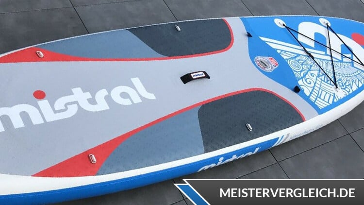 Mistral aufblasbares Stand-up-Paddle-Board Test