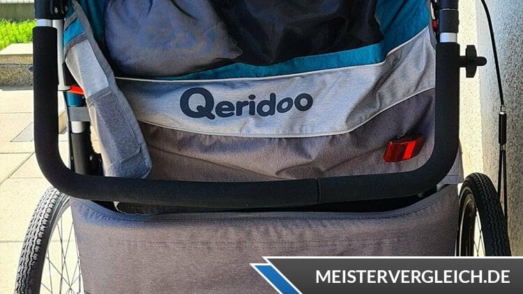 Qeridoo Fahrradanhänger Sportrex2 Griff