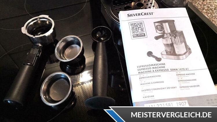 Instrucciones de funcionamiento de la máquina portafiltros SILVERCREST