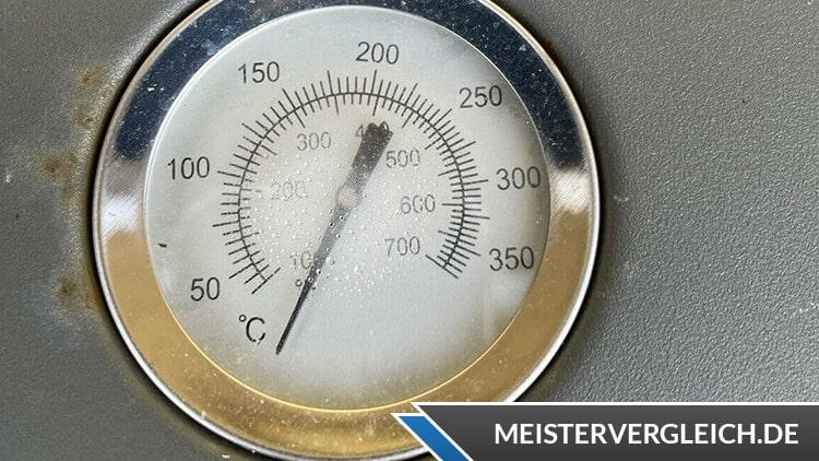 Tepro Tisch-Gasgrill Abington Thermometer
