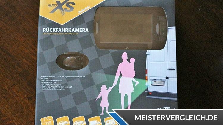AUTO XS Rückfahrkamera Lieferumfang