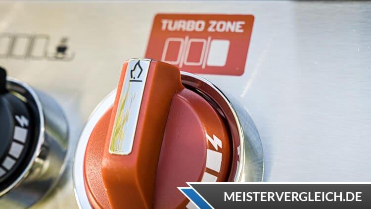 ENDERS Gasgrill Monroe Black ProX 3 KR Turbo TURBO ZONE