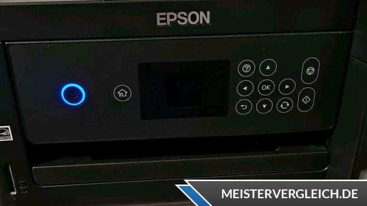 EPSON Drucker EcoTank ET-2750 Bedienelemente