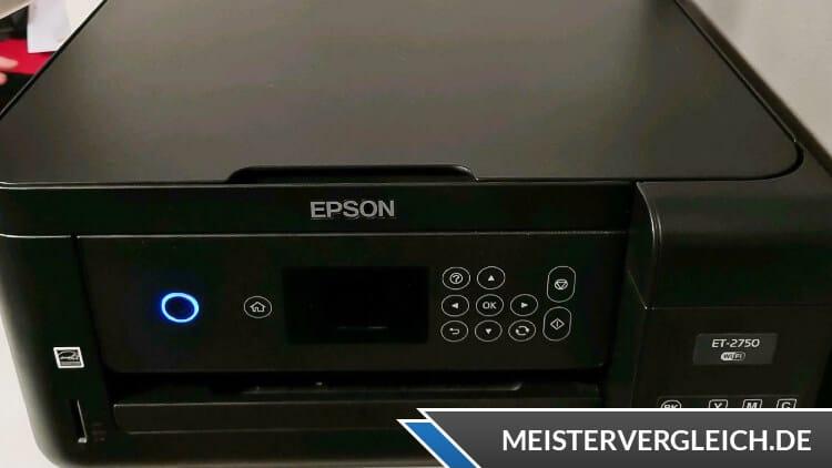 EPSON Drucker EcoTank ET-2750 Test