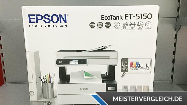 EPSON EcoTank ET-5150 Test