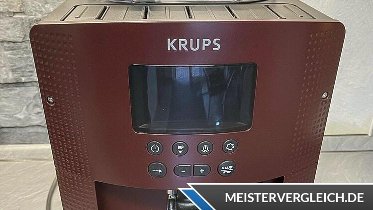 Krups Kaffeevollautomat EA 815 Test